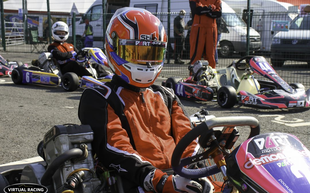 Archie Sherwood shines to clinch karting title win