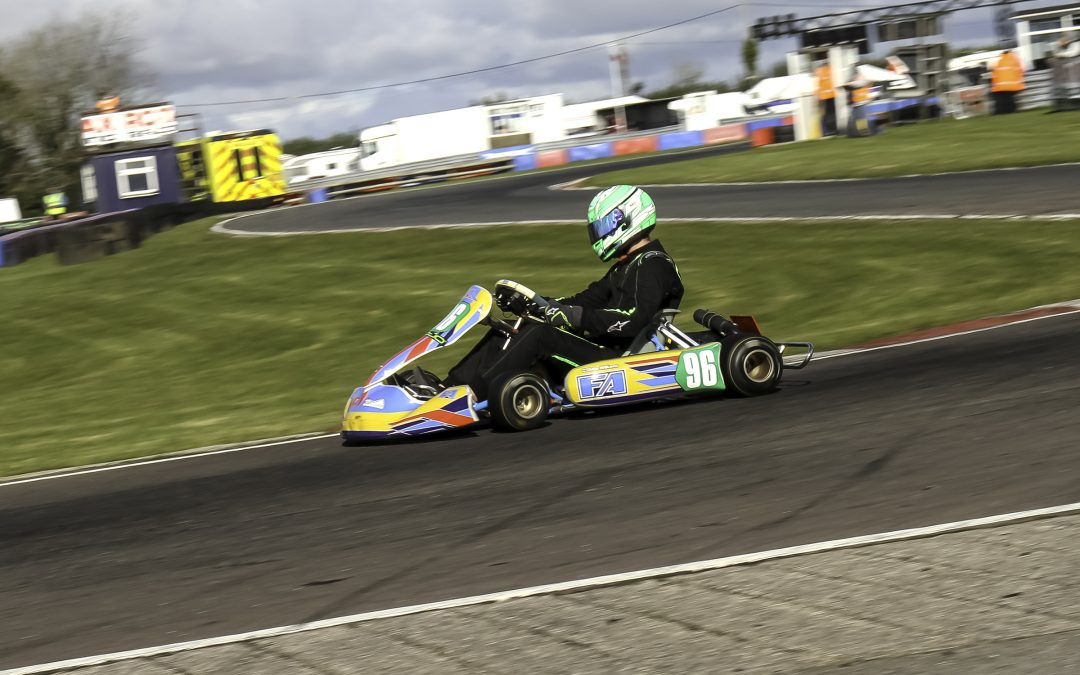 Ayres takes victory in the 177 Rotax & Masters with a true underdog performance